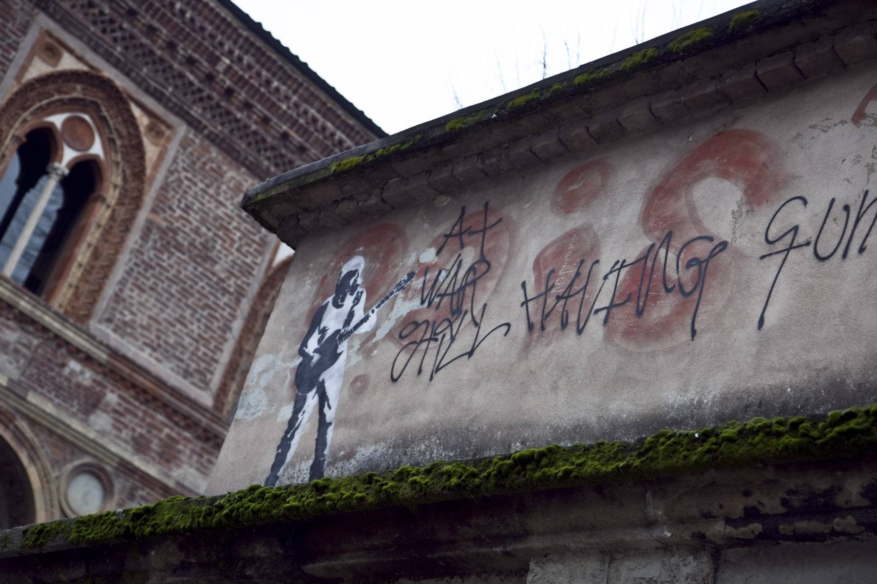 Street art tour milano