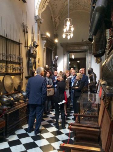 Museo Bagatti Valsecchi corridoio armature